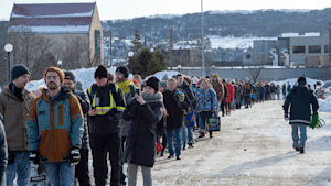 Hundreds Of Newfoundlanders Flood Grocery Stores After Monstrous Snowstorm