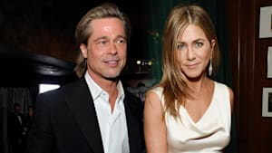 Brad Pitt & Jennifer Aniston's big SAG reunion