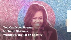 Michelle Obama's is sharing her workout playlist