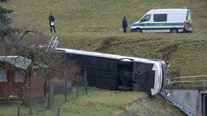 Zwei Kinder sind tot: Schulbusunfall in Thüringen