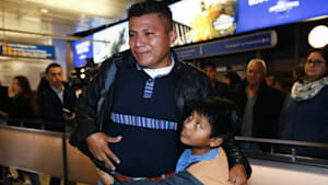 Migrant parents reunited with their kids in the US