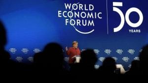 Viel Wirbel: Ganz schön was los in Davos