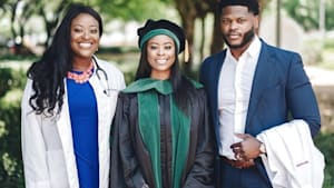 Meet the three siblings who all became doctors