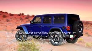 Der neue Jeep® Wrangler - Modernes, authentisches Wrangler-Design