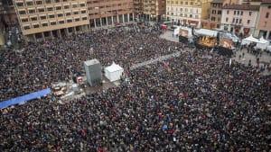 Regionalwahl in Italien: 40.000 Sardinen gegen Salvini