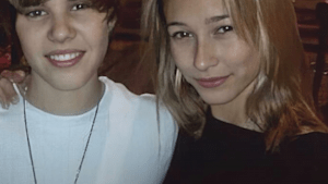 Hailey Baldwin was a fan before marrying Bieber