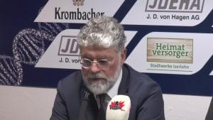 Wolfsburg gewinnt 0,3 Sekunden vor dem Ende! Die Trainerstimmen zum Wolfsburger Sieg in Iserlohn