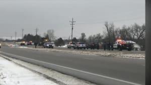 Officials: Snowplow kills 2 walking along highway in Kansas