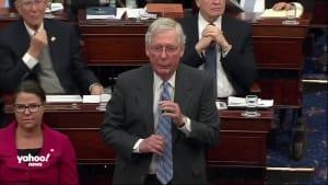Chief Justice Roberts appears uncertain ahead of Senate break