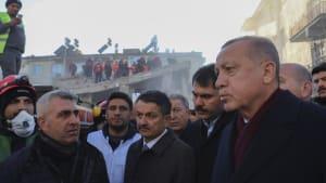 Erdbeben in der Osttürkei: Erdogan verspricht schnelle Hilfe
