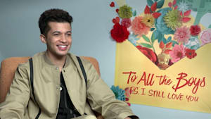 Jordan Fisher explains bromance with Noah Centineo