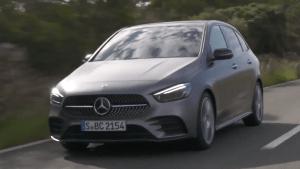 Mercedes-Benz B 220 d in Grey magno - Driving Event Mallorca 2018
