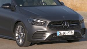 Mercedes-Benz B 220 d Design in Grey magno - Driving Event Mallorca 2018