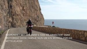 """Die neue BMW F 900 XR - Eine echte """"XR"""" für die Mittelklasse"""