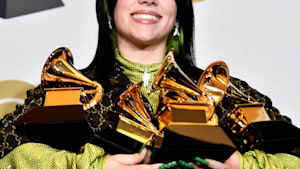 Billie Eilish swept the 2020 Grammys
