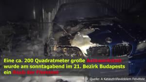 Großeinsatz: Autowerkstatt samt Autos in Flammen!