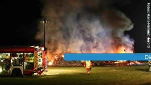 Brandserie in Bayern: Verdächtige in U-Haft - jetzt brennt es wieder