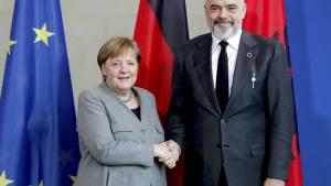Rama in Berlin: Merkel drängt auf EU-Beitrittsgespräche für Albanien