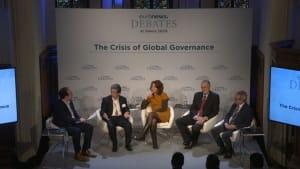 Ordnungspolitik weltweit in der Krise? Euronews-Debatte in Davos