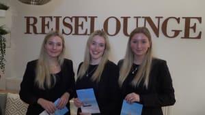 Die Reiselounge in Oldenburg: Drei Schwestern mit genialem Reisebürokonzept!