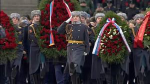 Gedenken an Ende der Belagerung Leningrads am 27.01.1944