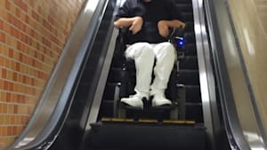 Escalator will be more accessible for wheelchairs