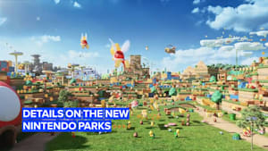 Details on the new Nintendo Parks continue to be revealed