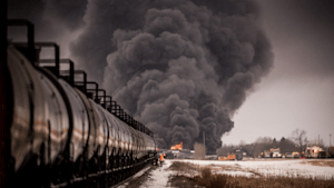 Guernsey, Saskatchewan Evacuated After Train Derailment