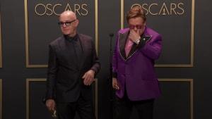 Sir Elton John dedicates Oscar win to songwriting partner of more than five decades