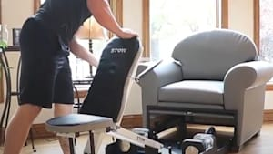 New living room furniture comes with at-home gym