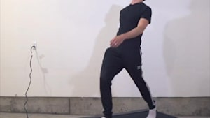Guy can walk 45 different ways