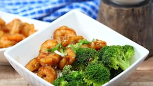 20-minute honey garlic shrimp