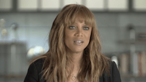 Tyra Banks gets real about the fashion industry