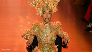Model Jillian Mercado shines at NY Fashion Week