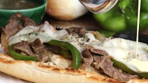 Ultimate steak sandwich is a meat lover's dream