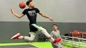Incredible dunk is taking the internet by storm