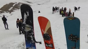 Snowboarding is flourishing in an unlikely country