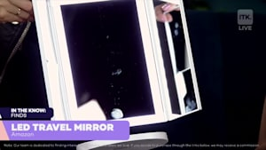 You'll never leave home without this mirror!