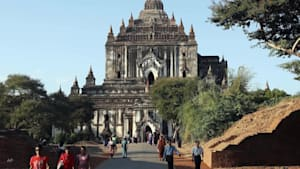 Uproar follows porn movie shot at holy site in Myanmar
