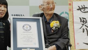 Japanese man is the oldest person in the world
