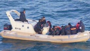 Im Boot über den Ärmelkanal: Migranten auf gefährlicher Reise