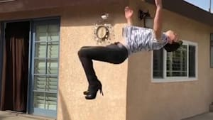 Guy can do a backflip in heels and so much more