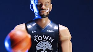 Stephen Curry action figure is a collector's dream