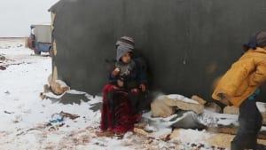 Flüchtlinge in Syrien: Jetzt schneit es auch noch