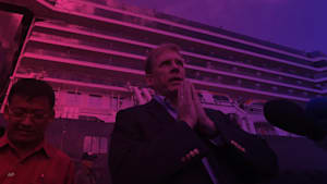 "Ship becomes ""best cruise ever"" despite coronavirus fears"