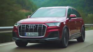 Der Audi Q7 Mild-Hybrid-Technologie in Serie - der Antrieb