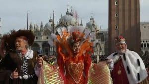 Venedig: Scharfschützen begleiten Flug des Karnevalsengels