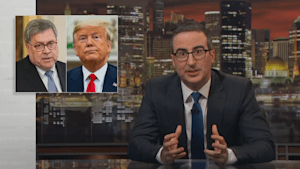 John Oliver agrees with Laura Ingraham on Trump