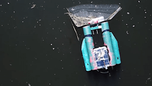 Clean Chicago's rivers with this online drone game