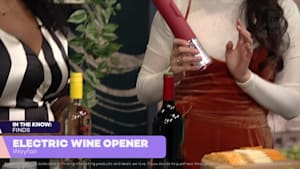 Electric wine opener is a wine-lover's dream